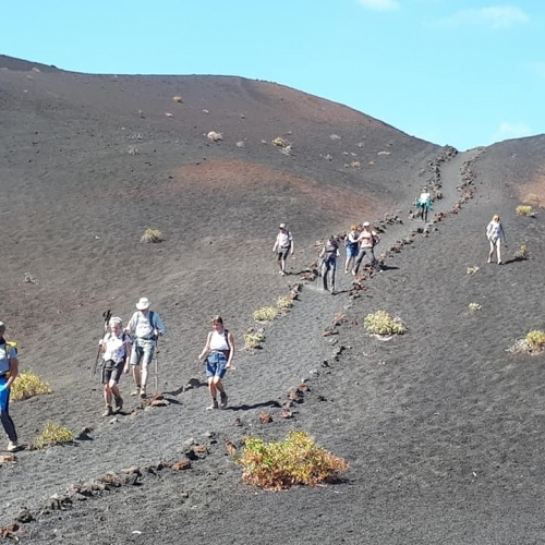 Volcanic pathways