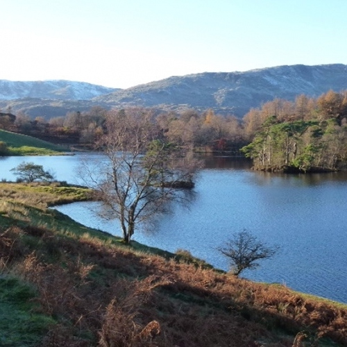 Guided walking in the Lake District - Rydal Water