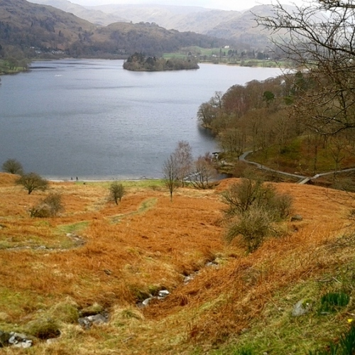 Guided walking in Lake District- Grasmere in the Lake District
