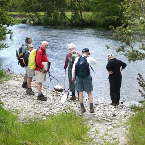 Guided walking in Llangollen and the Dee Valley