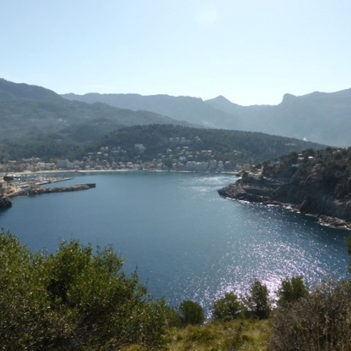 Guided walking in Mallorca - Port Soller Bay