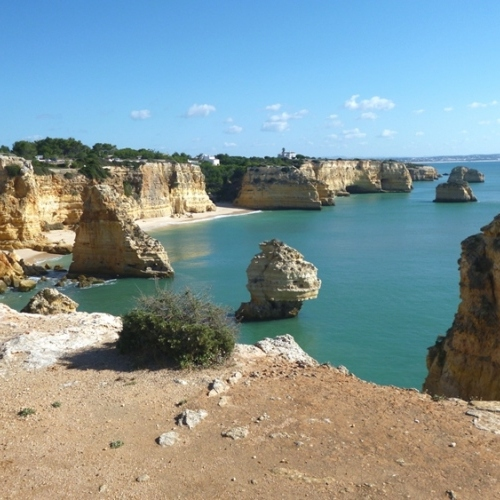 Guided walking in Portugal's Algarve - a sea scape to die for