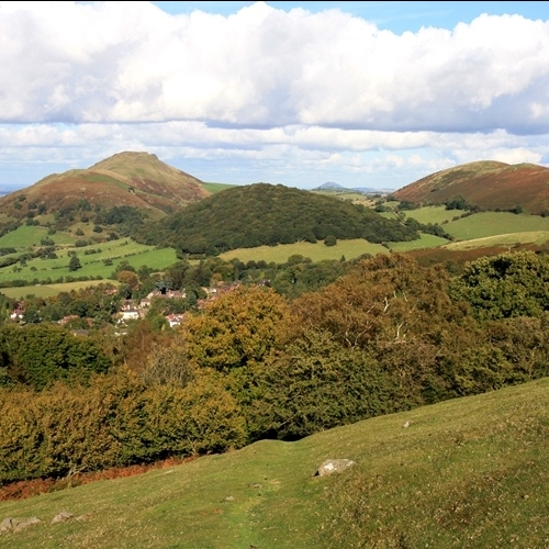 Gudied walking in Shropshire Hills - The Lawley