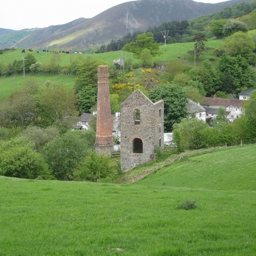 Guided walking in Shropshire Hills - lead mines all around