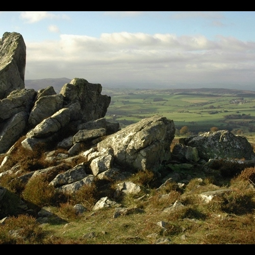 Guided walking in Shropshire Hills - the Stiperstones area