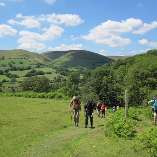 Guided walking in Shropshire Hills - on the Long Mynd